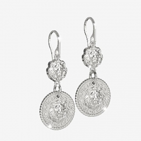 Rebecca small Earrings in silv