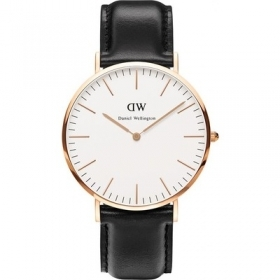 Daniel Wellington Classic Petite 40mm Sheffield ros black DW00100007