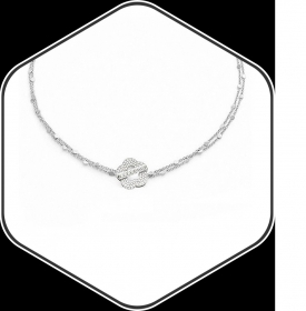 Pasquale Bruni necklace white gold diamonds 15393b