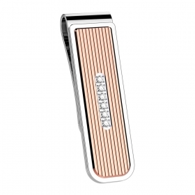 Zancan Money clip in stainless