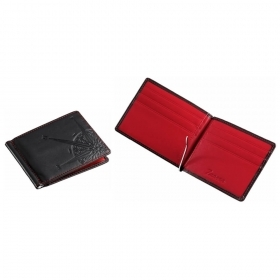 Zancan Portfolio, with spring skin color black and red interior HPL029