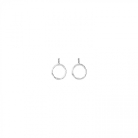 Uno de 50 earrings alloy circle maxi PEN0610MTL0000U