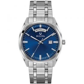 Bulova mens watch stainless st