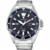 Citizen man watch steel only time blue dial BM7450-81L