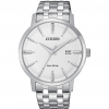 Citizen man watch only time steel classic silver dial BM7460-88H