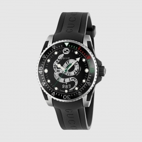 Gucci watch dive 40 mm rubber