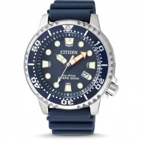 Citizen man watch steel rubber