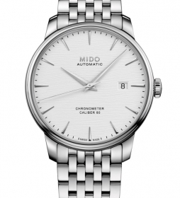 Mido Man Watch Stainless Steel Silver Dial Automatic M027.408.11.031.00