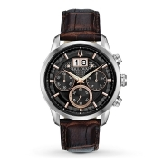Bulova mens WATCH LEATHER AUTOMATIC CHRONO 96B311