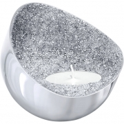 Swarovski Minera Candle Holder, Silver-Plated 5265143