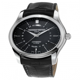 Frederique Constant Classics 24H steel case leather strap FC-332DG6B6