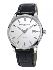 Frederiqu Constant Classics Index Automatic stainless steel leather strap FC-303S5B6