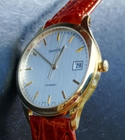 EBERHARD WATCH WRIST AUTOMATIC 18K GOLD YEAR 2003 40032 OR