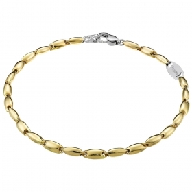 ZANCAN BRACELET IN GOLD-TWO-TONE - INSIGNA GLOD EB554GB