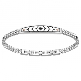 ZANCAN BRACELET IN STEEL WITH