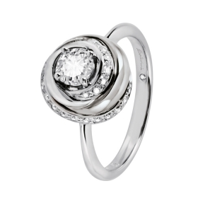 Salvini Ring Embrace white gold with diamonds Ref. 20057731