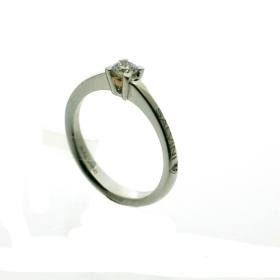 Salvini Solitaire Ring white gold with diamonds Ref. 20074771