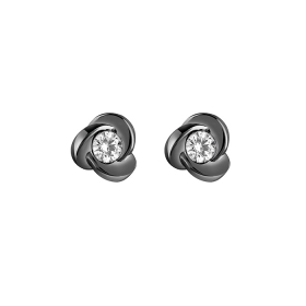 Salvini Earrings with diamonds and black gold Ref. 20063666