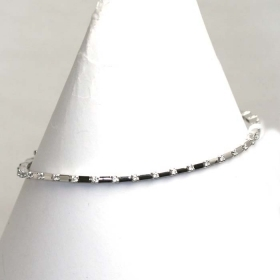 Salvini Tennis Bracelet white gold and diamonds Ref.20037354