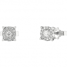 Bliss Earrings Lumina white gold and diamonds 20077821