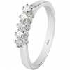Bliss Ring Dream white gold with diamonds 20081272