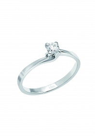 Bliss Ring Iris white gold with diamonds 20069817