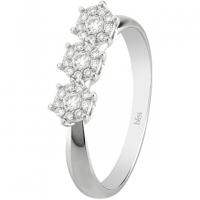 Bliss Ring Caresse white gold with diamonds 20081279