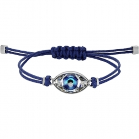 Swarovski Bracelet Power Collection Evil Eye and blue steel 5506865