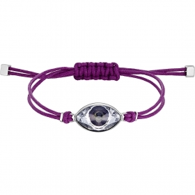 Swarovski Bracelet Power Collection violet en acier inoxydable 5508534