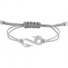 Swarovski Bracelet Power Collection, grey, rhodium Plating 5511778