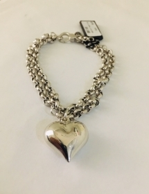 DISPLAY Bracelet 2-wire with heart BM1168