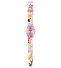 SWATCH WOMAN WATCH STRAP, COLO