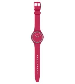 SWATCH WOMAN WATCH STRAP RASPBERRY REF. SVOR101