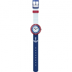 SWATCH WATCH CHILD'S MARITIME THEME FBNP090