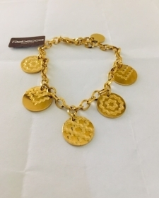 REBECCA BRACELET IN BRONZE PLATED IN YELLOW BIABBO05