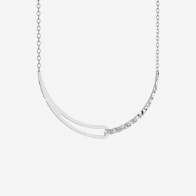 REBECCA Necklace Iconic Bronze Rhodium plated White BICKBB04