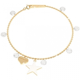 Rebecca silver Bracelet with stones collection fireflies SLCBOB06