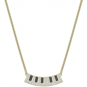 Necklace symbol in the Piano multicolor gold-Plated