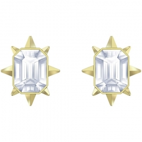 Swarovski Earrings Stud, Tarot, Magic crystals, white gold-Plated 5494019