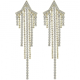 Swarovski long earrings sparkl