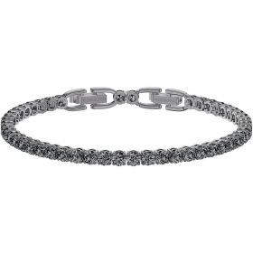 Swarovski Bracelet Tennis Deluxe grey Plating ruthenium 5514655
