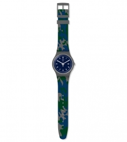 SWATCH MENS WATCH STRAP CAMUFL