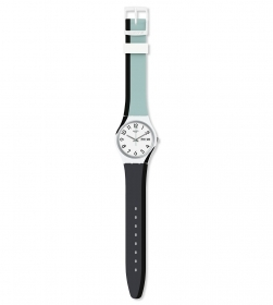 SWATCH MAN WATCH STRAP: TWO-TONE GW711