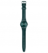 SWATCH WOMAN WATCH STRAP GREY EFFECT METALLIC GG407