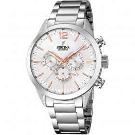 FESTINA chronograph watch men's Timeless Chronograph F20343/6