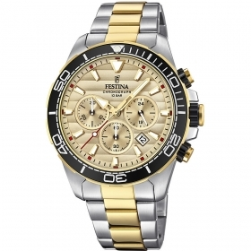 FESTINA chronograph watch men Prestige F20363/1