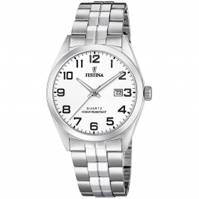 FESTINA watch woman only time Maple Classic white dial F20437/1