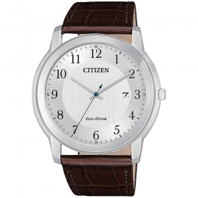 CITIZEN watch only time man Citizen Evergreen leather strap AW1211-12A