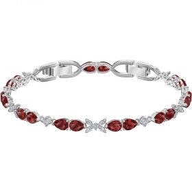 Swarovski Bracelet Louison red Plating rhodium 5495264