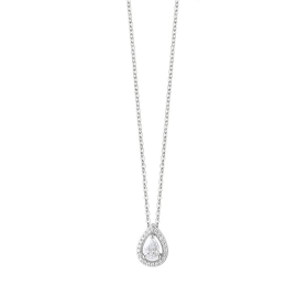 Bliss necklace silver pendant shape drop 20085201